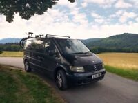 Mercedes Vito Campervan + Awning Package