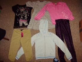 Huge bag of girl's clothing, 5 years- 10 years, 50 items, lovely selection