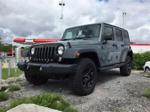 2014 Jeep WRANGLER UNLIMITED WILLYS.2 TOITS.GARANTIE PROLONGÉE O