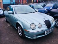 JAGUAR S TYPE AUTOMATIC 3.0 V6 SE PETROL 2001 SUNROOF LEATHER