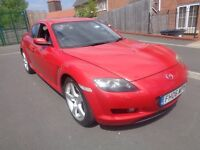Mazda RX-8 231 PS Red 1.3 Petrol 240 Bhp Coupe 2006 Bargain