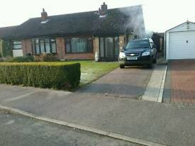 2 bedroom bungalow in Carlton Colville village.