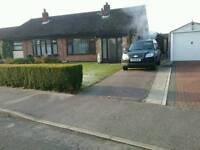 2 bedroom bungalow in Carlton Colville village.
