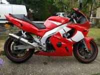 MINT CONDITION YAMAHA 600 YZF YZF600R THUNDERCAT R6 MAY PX ANY BIKE