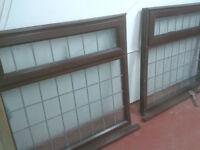upvc brown windows
