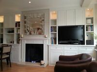 Custom Made/Hand made Alcove Units, Fitted Wardrobes, Bookshelves, Storage Solutions
