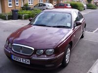 ROVER 75 1.8 LITRE. New rear springs,discs and pads, 11 months MOT