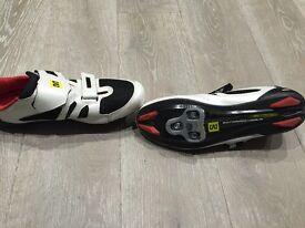 MavicTri bike shoe (Black/White)