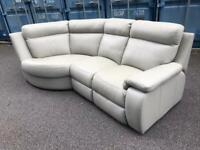 Genuine leather sofa possible delivery