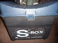 FISHING TACKLE SEAT BOX