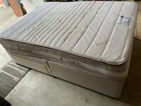 Double Divan Bed and Memory Foam Mattress