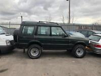 P REG LANDROVER DISCOVERY 2.5 TDI AUTOMATIC- JAPAN IMPORT-12 MONTH MOT TEST-GENUINE 60,000 MILES