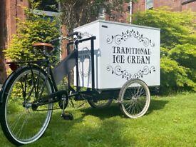 Ice Cream Tricycle with freezer £750