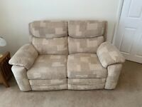 2x 2 seater Sofa's for Sale (1x recliner)