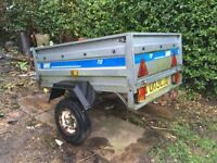 Car Trailer for Sale in good condition. Hardly used.