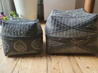 Storage Baskets: Hand Made with intricate design