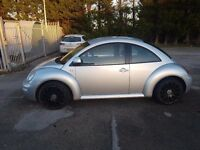 Spares or repairs 2002 VW BEETLE