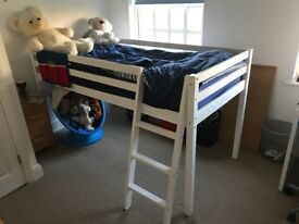 Cheap price for Quick sale- Children's cabin bed inc. waterproof mattress
