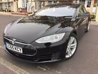 2015 Tesla Model S 70D All Wheels Drive Autopilot