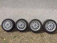 Ford Focus Zetec S Alloy Wheels & Tyres