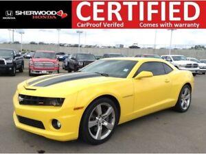 2011 Chevrolet Camaro 2SS| REAR PARK ASSIST|HEATED LEATHER|HOMEL