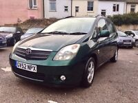 Toyota Corolla Verso 1.8 VVT-i T3 5dr£1,495 one owner
