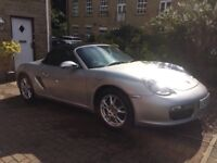 Manual convertible Porsche with full service history