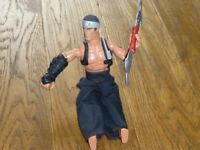 Good used condition Action man Kung Fu/Ninjutsu extreme with double ended blade