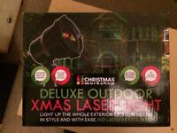 Christmas Outdoor Deluxe Projector Light with Remote Control