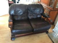 2 seater sofa and 2 one seater chairs
