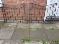 Cast iron driveway gates for sale