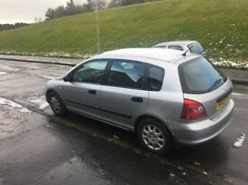 Honda Civic 03 plate 1.4 for sale
