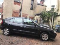 Car MOT till Jan19, half-leather, electrical windows front, new belt and alternator, 4 good tires