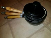 Cast Iron Pots and Pans never used!