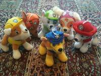 Paw Patrol plush toys - NEW