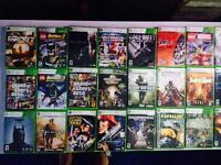 Jeux Xbox 360 à vendres