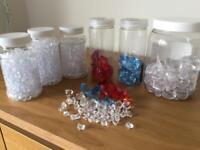 Plastic Gemstones