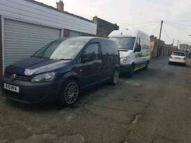 Facelift caddy van with 2.0 tdi 6speed engine