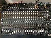 Euro desk MX 2442A: With Power amp and Case!
