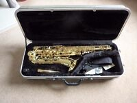 ARTEMIS TENOR SAXOPHONE by TREVOR JAMES + hard case + accessories