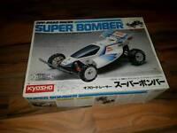 Vintage rare kyosho super bomber rc car