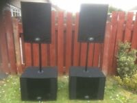 Speaker Hire Laser & Light Hire. Drop off and collection Service Available