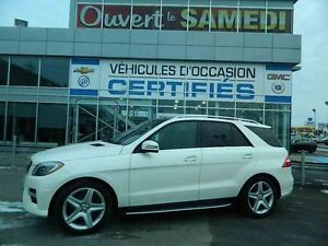 2014 Mercedes-Benz ML350 4Matic BlueTEC TURBO DIESEL + GROUPE AM