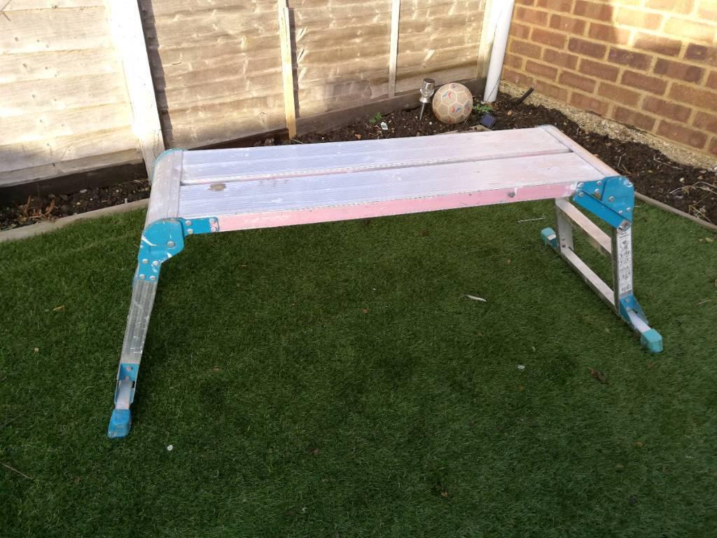 Working platform, step up ladder, work bench, step hop up | in Leighton  Buzzard, Bedfordshire | Gumtree
