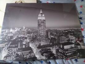 Large NY print