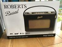 Brand new Roberts RD60 DAB Radio in Black