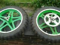 "10"" motorbike wheels"