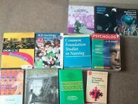 Books for nursing/ social access course