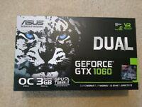 Boxed Asus Dual GeForce GTX 1060 3gb Graphics Card