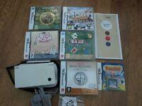 Nintendo DSi white with games